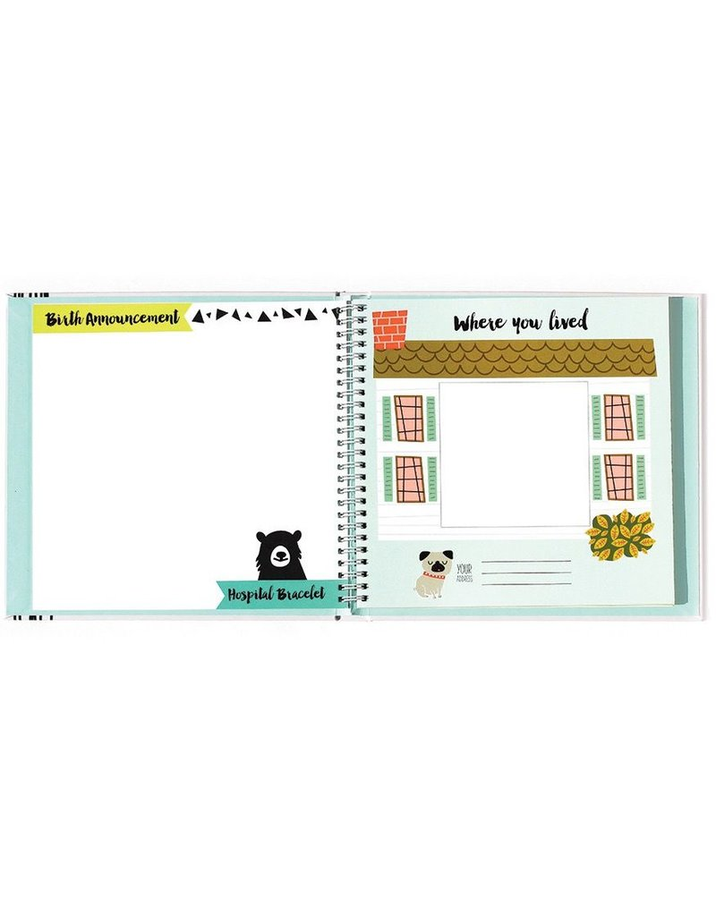 Lucy Darling Lucy Darling Little Animal Lover Memory Book