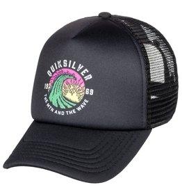 Quiksilver Mini Whiner Trucker Hat, 2-7y