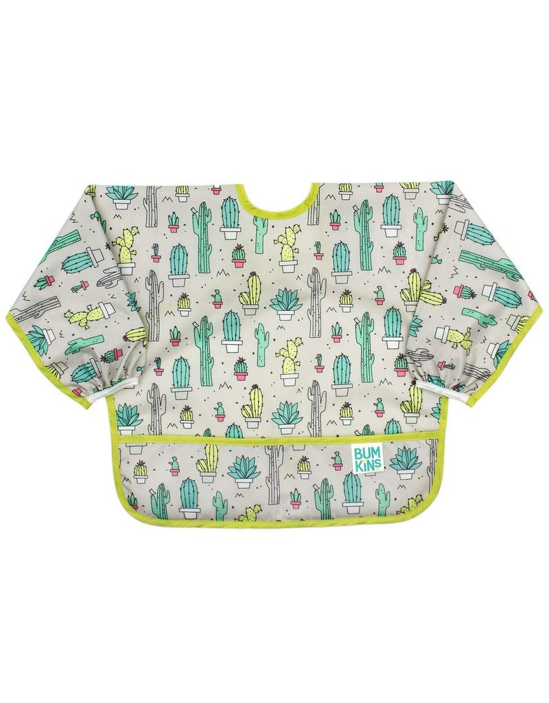 Sleeved Bib - Cacti - Vancouver s Best Baby   Kids Store  Unique Gifts 3d43dcd86