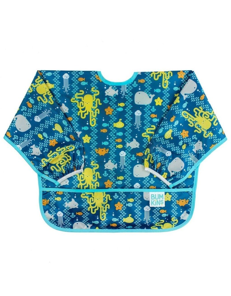 Sleeved Bib - Sea Friends - Vancouver s Best Baby   Kids Store  Unique  Gifts 389f8d4bb