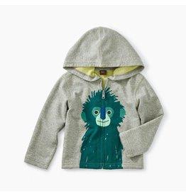 Tea Collection Langur Baby Zip Hoodie 9-12m
