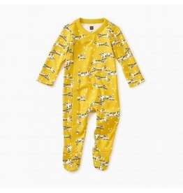 Tea Collection Tiger Tiptoes Footed Sleeper