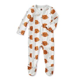 Tea Collection Cuddly Cubs Footed Sleeper