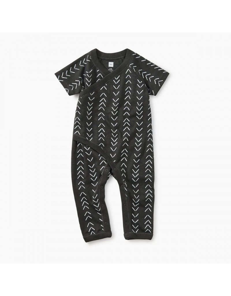 Tea Collection Baby Geo Wrap Romper