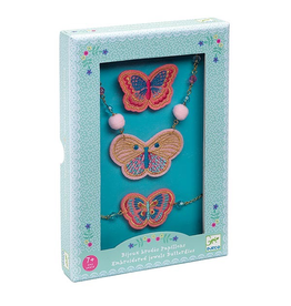 Djeco Embroidered Jewels Butterflies