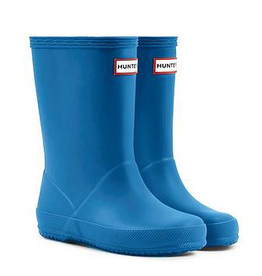 Hunter Boots Kid's First Hunter Boots Bucket Blue