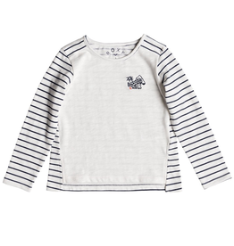 Quiksilver Blossom Roses Little Story LS Top