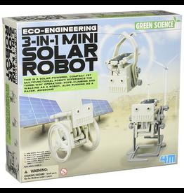 Eco-Engineering 3-In-1 Solar Robot