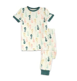 Silkberry Seahorse Bamboo SS PJs