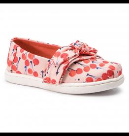 Toms Cherry Alpargata Tiny Shoes