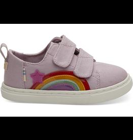 Toms Rainbow Star Lenny Tiny Shoes Size 6
