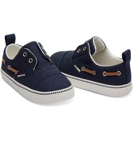 Toms Navy Pasadena Tiny Shoes