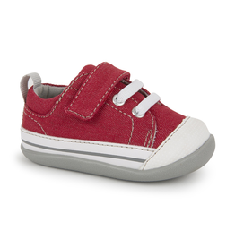 See Kai Run Stevie II First Walkers Red/Grey