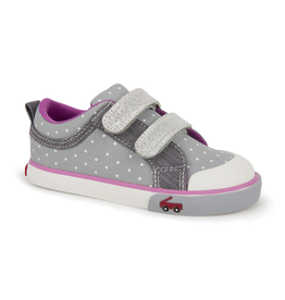 See Kai Run Robyne Dots Sneakers Size 5