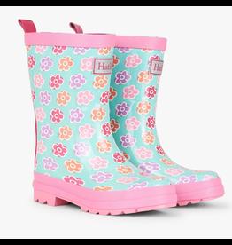 Hatley Flower Sketches Rain Boots Size 4