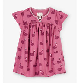 Hatley Swan Lake Baby Puff Dress
