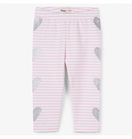 Hatley Shimmer Hearts Baby Leggings