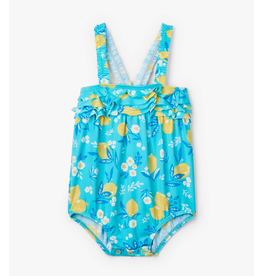 Hatley Cute Lemons Baby Swimsuit UPF 50+