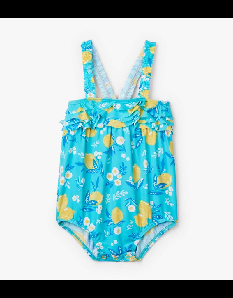 d54193d68a5bb Hatley Cute Lemons Baby Swimsuit UPF 50+ - Vancouver's Best Baby ...
