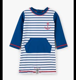 Hatley Nautical Stripes Baby Rashguard Suit