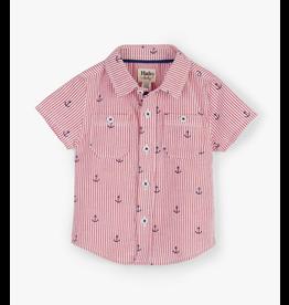Hatley Tiny Anchors Baby Shirt