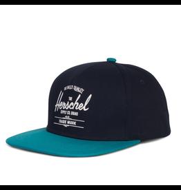Herschel Youth Whaler Cap Navy/Blue