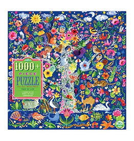 Eeboo Tree of Life Family Puzzle 1008pc
