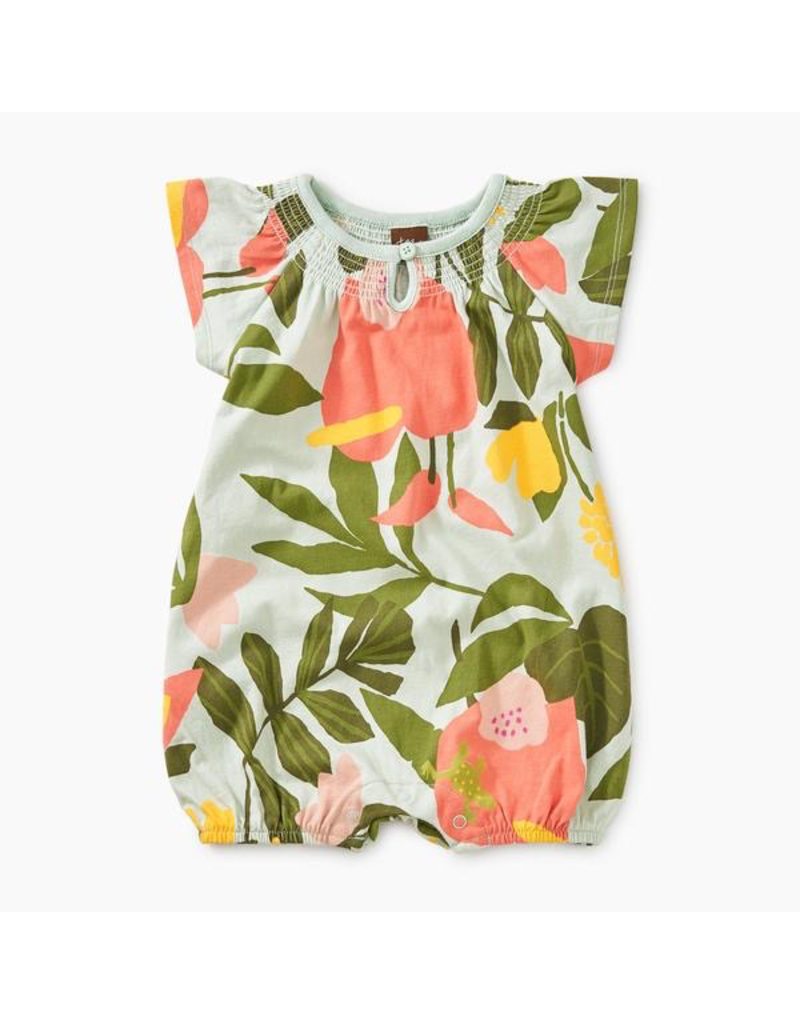 bfece0b8de7 Tea Collection Tropical Smocked Romper - Vancouver s Best Baby ...