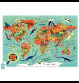 Crocodile Creek 200-pc. Puzzle+Poster - Dinosaur World