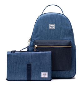Herschel Nova Sprout Diaper Bag Denim