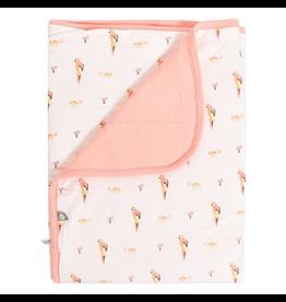 Kyte Baby Baby Blanket In Peach/Fiji