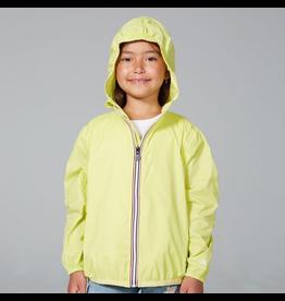 O8 Lifestyle Packable Rain Jacket Citrus