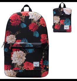 Herschel Packable Daypack - Vintage Floral Black