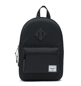 Herschel Heritage Kids Black Rubber