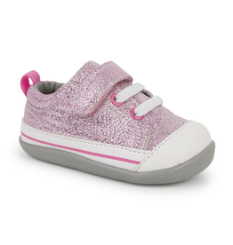 See Kai Run Stevie II First Walkers Pink Glitter