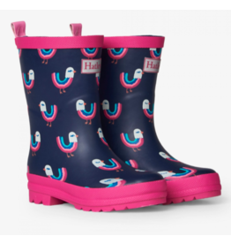 Hatley Rainbow Birds Matte Rain Boots