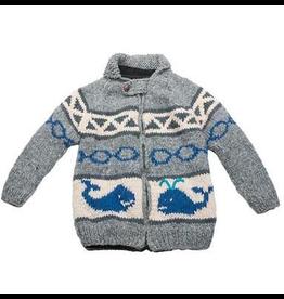 Ambler Whale Wool Sweater