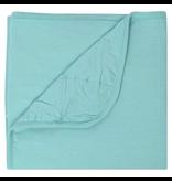 Kyte Baby Baby Blanket In Aqua