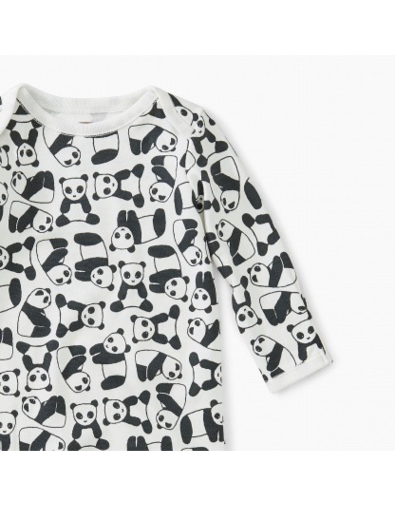 Tea Collection Panda Baby Gown