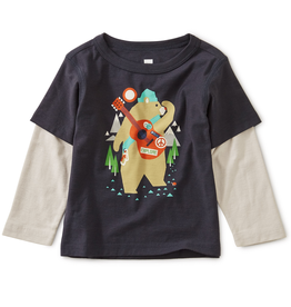 Tea Collection Camp Bear LS Tee