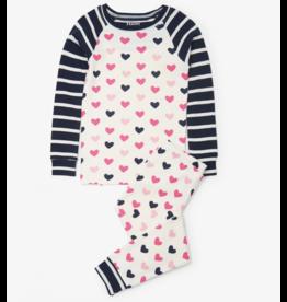 Hatley Lovey Hearts Organic PJs