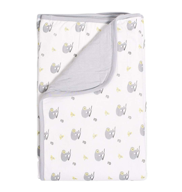Kyte Baby Baby Blanket In Storm/Canopy