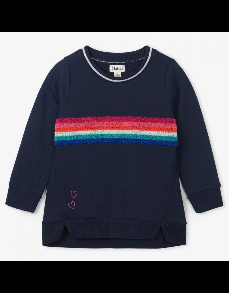 Hatley Retro Rainbow Stripe Pullover