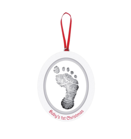 Baby's 1st Christmas Footprint Ornament