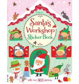 Usborne Santa's Workshop Sticker Book
