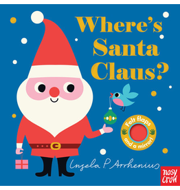 Random House Where's Santa Claus? Board Book