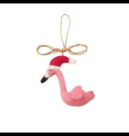Flamingo Felt Ornament