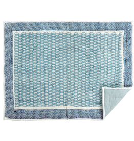 Ellie Baby Blanket, Blue