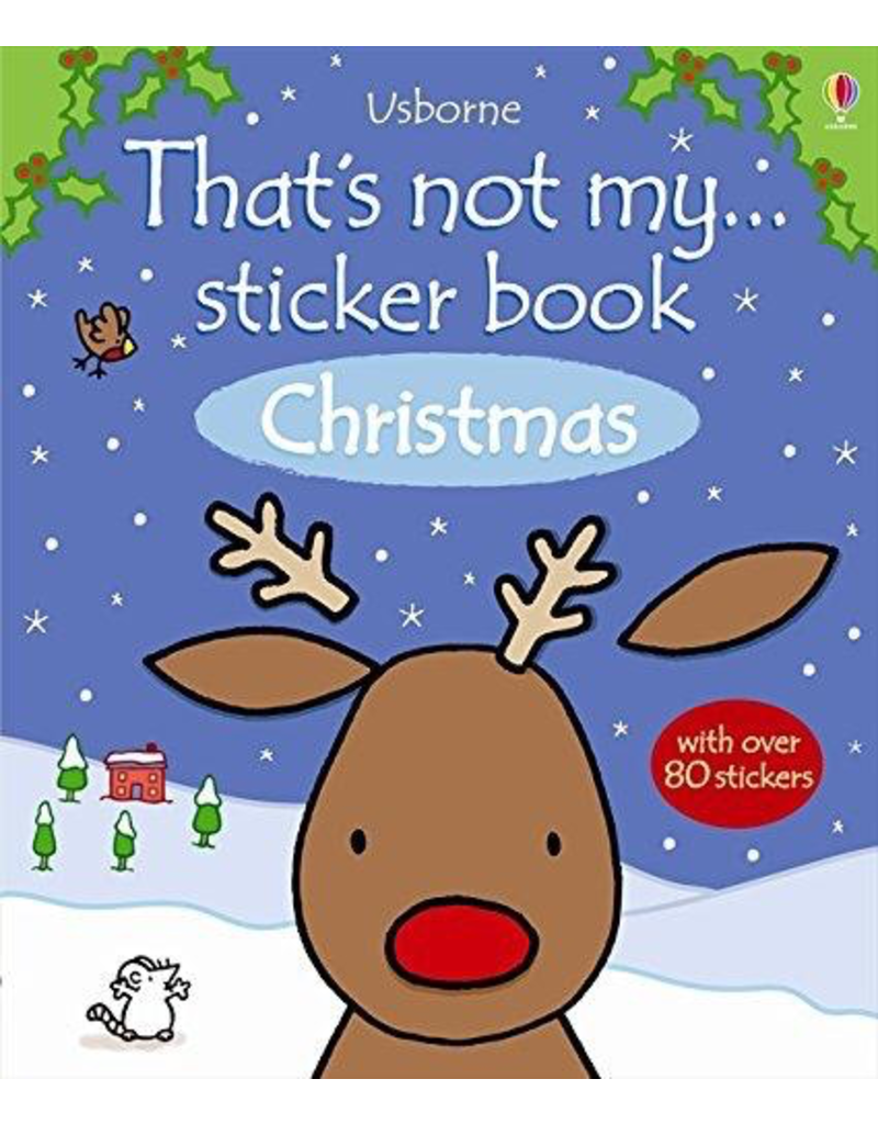 Usborne That's Not My… Sticker Book: Christmas