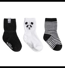 Robeez Shoes Sock 3pk - Piper Panda